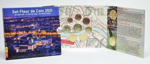 Lieferumfang:Belgien : 8,88 Euro KMS Belgien Lüttich  2021 Stgl.