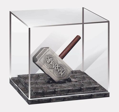 Lieferumfang:Solomon Islands : 10 Dollar Thor's Hammer - Antique Finish  2021 Stgl.