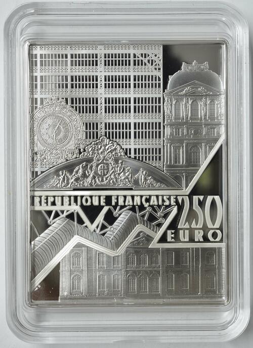 Rückseite:Frankreich : 250 Euro Johannes Vermeer  2021 PP