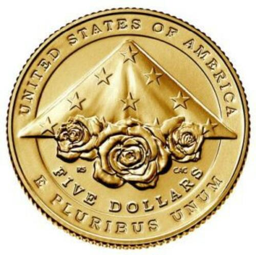 Rückseite:USA : 5 Dollar Nationales Strafverfolgungsmuseum  2021 Stgl.