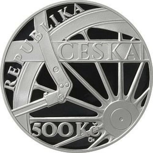 Vorderseite:Tschechische Republik : 500 Kronen Skoda 498 Dampflokomotive ´Albatros´  2021 PP