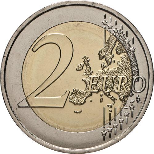 Vorderseite:Malta : 2 Euro Helden der Pandemie  2021 bfr