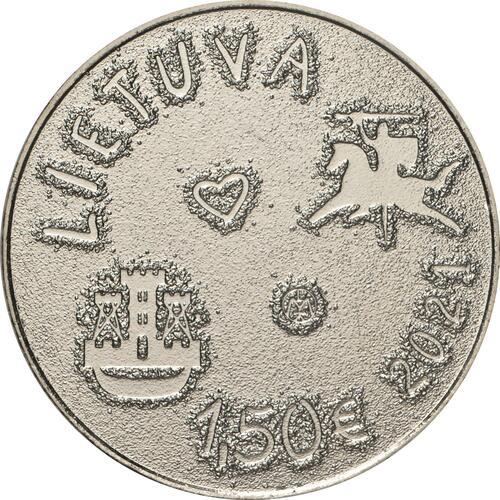 Vorderseite:Litauen : 1,5 Euro Sea Festival  2021 bfr