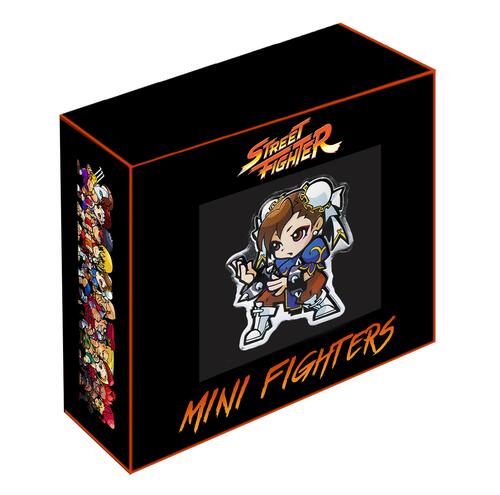 Lieferumfang:Fidji Inseln : 1 Dollar Street Fighter - Chun Li  2021 PP