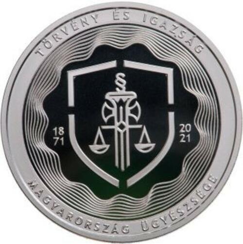 Vorderseite:Ungarn : 10000 Forint 150 Jahre Staatsanwaltschaft Si PP  2021 PP