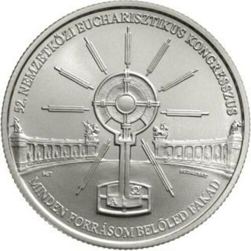 Lieferumfang:Ungarn : 2000 Forint 52. int. Eucharistischer Kongress CuNi  2021 Stgl.