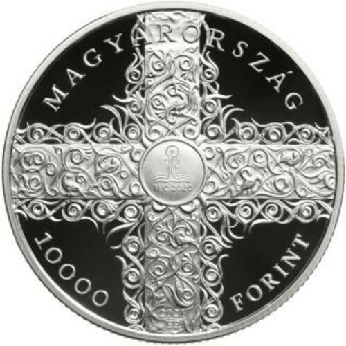 Vorderseite:Ungarn : 10000 Forint 52. int. Eucharistischer Kongress SiPP  2021 PP