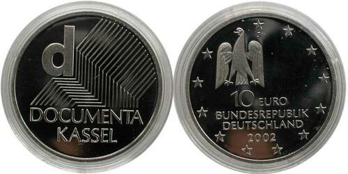 Lieferumfang:Deutschland : 10 Euro Documenta  2002 PP