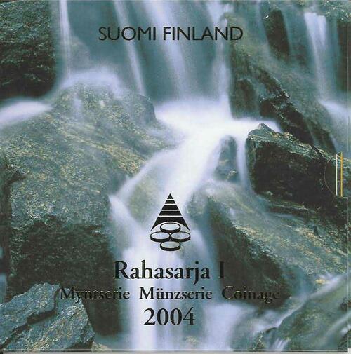 Lieferumfang:Finnland : 3,88 Euro original Kursmünzensatz der finnischen Münze  2004 Stgl. KMS Finnland 2004