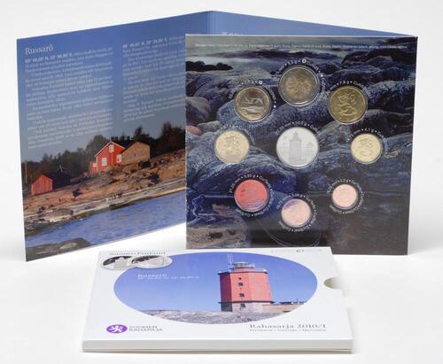 Lieferumfang:Finnland : 3,88 Euro original Kursmünzensatz der finnischen Münze  2010 Stgl. KMS Finnland 2010