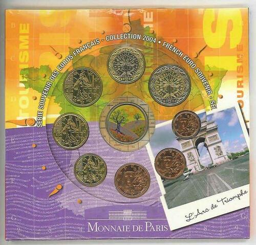 Lieferumfang:Frankreich : 3,88 Euro original KMS Frankreich Tourismus  2004 Stgl. KMS Frankreich 2004;Tourismus