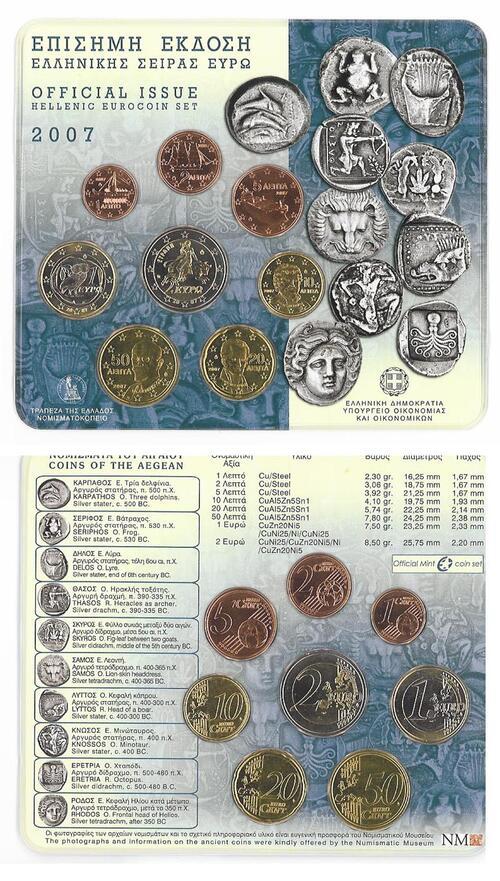 Lieferumfang:Griechenland : 3,88 Euro KMS Griechenland  2007 Stgl.