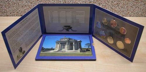 Lieferumfang:Irland : 3,88 Euro original Kursmünzensatz aus Irland  2003 bfr KMS Irland 2003