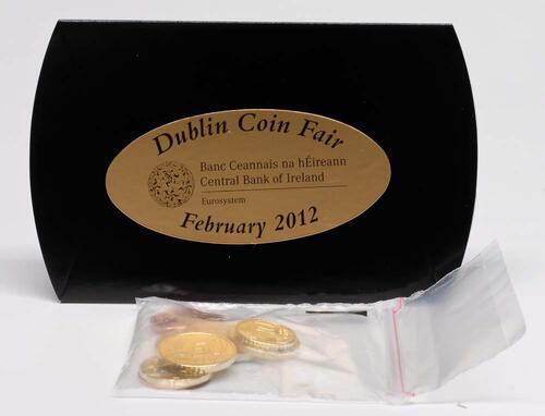 Lieferumfang:Irland : 3,88 Euro original Kursmünzenset aus Irland - Dublin Coin Fair  2012 Stgl.
