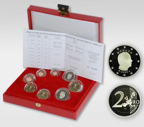 Lieferumfang:Monaco : 3,88 Euro KMS Monaco  2006 PP KMS Monaco 2006 PP