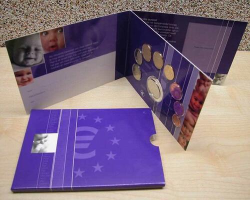 Lieferumfang:Niederlande : 3,88 Euro KMS Baby Niederlande + Medaille  2003 bfr