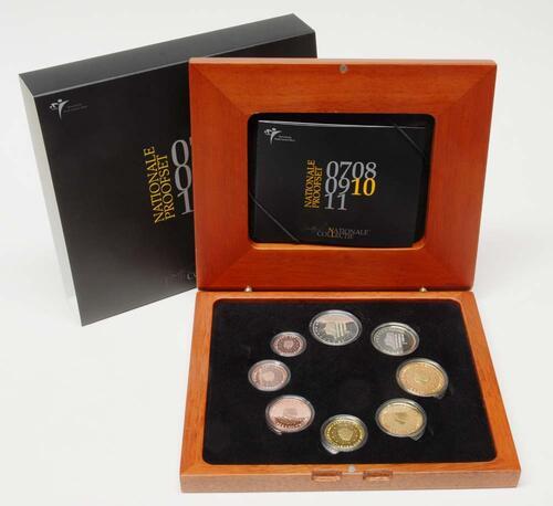 Lieferumfang:Niederlande : 3,88 Euro original Kursmünzensatz der niederländischen Münze  2010 PP