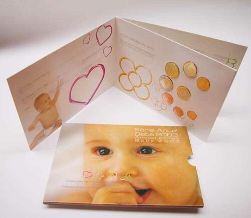 Lieferumfang:Portugal : 3,88 Euro original KMS Baby aus Portugal  2003 Stgl. KMS Portugal 2003 Baby