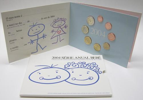 Lieferumfang:Portugal : 3,88 Euro original KMS Baby aus Portugal  2004 Stgl.