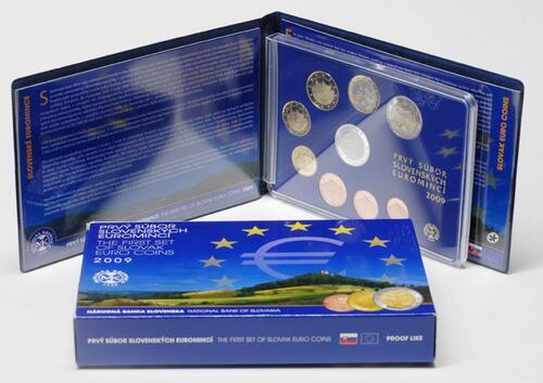 Lieferumfang:Slowakei : 3,88 Euro KMS Slowakei  2009 PP KMS Slowakei 2009 PP