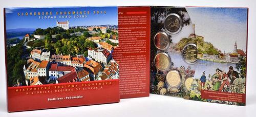 Lieferumfang:Slowakei : 3,88 Euro KMS Slowakei Podunajsko  2013 Stgl.