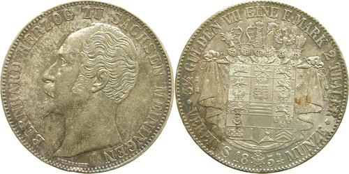 Lieferumfang:Deutschland : 1 Doppeltaler Bernhard winz. Rs. 1854 vz/Stgl.