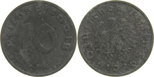 Lieferumfang:Deutschland : 10 Reichspf.   1946 ss/vz.