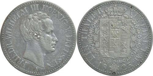 Lieferumfang:Deutschland : 1 Taler Friedrich Wilhelm III.  1823 ss.