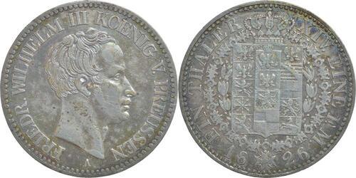 Lieferumfang:Deutschland : 1 Taler Friedrich Wilhelm III. patina 1826 ss+