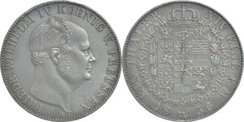 Lieferumfang:Deutschland : 1 Taler Friedrich Wilhelm IV.  1856 vz.