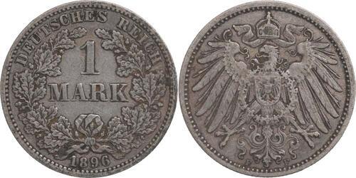 Lieferumfang:Deutschland : 1 Mark   1896 ss.