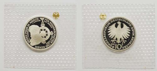 Lieferumfang:Deutschland : 10 DM Pour le Mérite  1992 PP