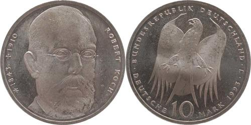 Lieferumfang:Deutschland : 10 DM Koch  1993 vz/Stgl.