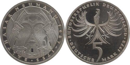 Lieferumfang:Deutschland : 5 DM Neumann  1978 vz/Stgl.