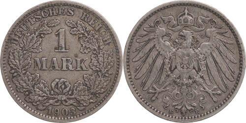 Lieferumfang:Deutschland : 1 Mark   1903 ss.