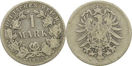 Lieferumfang:Deutschland : 1 Mark   1880 s.