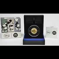 Frankreich 50 Euro Mickey Maus 2016 PP Gold