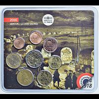 Frankreich 2016 3,88 Euro Mini KMS 1. Weltkrieg Stgl.