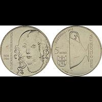 Portugal 2016 5 Euro Katharina von Braganza bfr