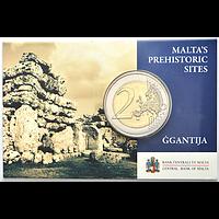 Malta 2 Euro Ggantija Tempelanlage auf Gozo 2016 bfr