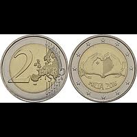 2 Euro Malta 2016 bfr Liebe