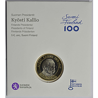 Finnland 5 Euro Kallio 2016 Coincard