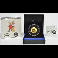 Frankreich 50 Euro Dagobert Duck / Scrooge McDuck 2017 PP Gold