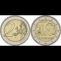Luxemburg 2 Euro Armee 2017 bfr