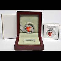 Belgien 5 Euro Herztransplantation 2017 PP