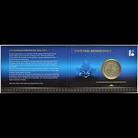 Estland 2 Euro Unabhängigkeit 2017 Stgl. in Coincard