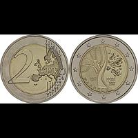 Estland 2 Euro Unabhängigkeit 2017 bfr