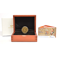 Niederlande 50 Euro Willem Alexander 2017 PP GOLD