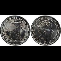 Großbritannien 2018 2 Pfund Britannia Stgl.