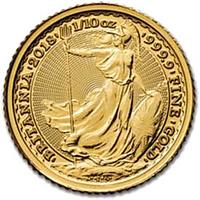 Großbritannien 2018 10 Pfund Britannia Stgl.